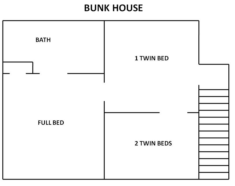 Bunk House Floor Plan 3.26.09